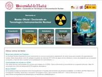UHU Máster en Tecnología e Instrumentación Nuclear