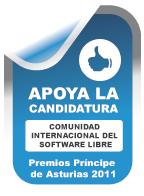 Candidatura Software Libre Premio Príncipe de Asturias 2011