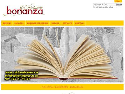 CMS Plone de Ediciones Bonanza (Huelva)
