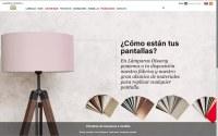 CMS Plone Lámparas Disseny (Barcelona)