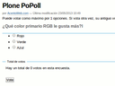 Minimanual Plone PoPoll
